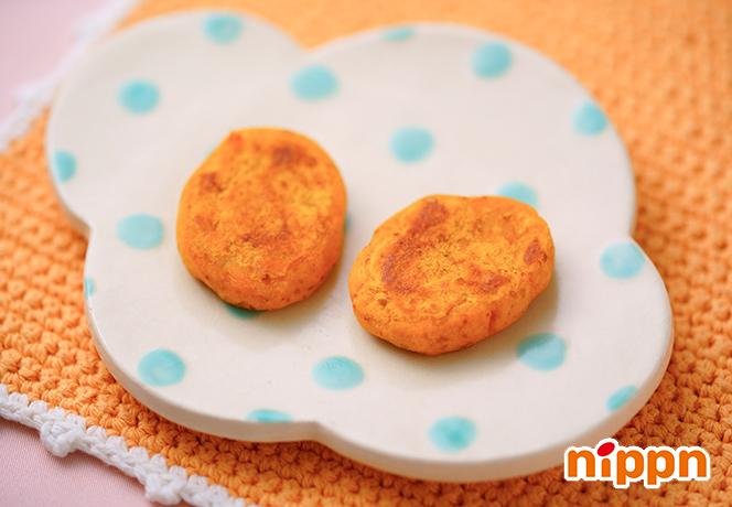かぼちゃとアマニ粉末のおやき