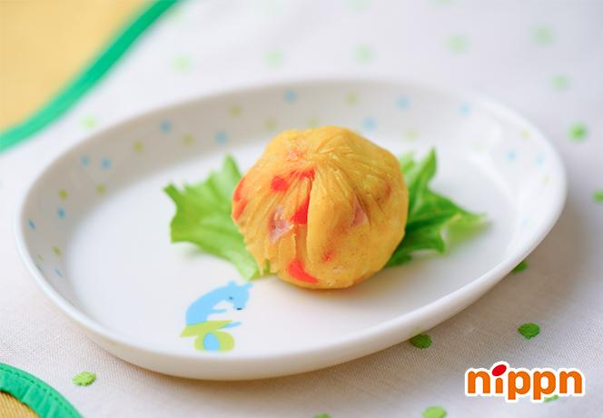 アマニオイルのカレーポテトサラダ